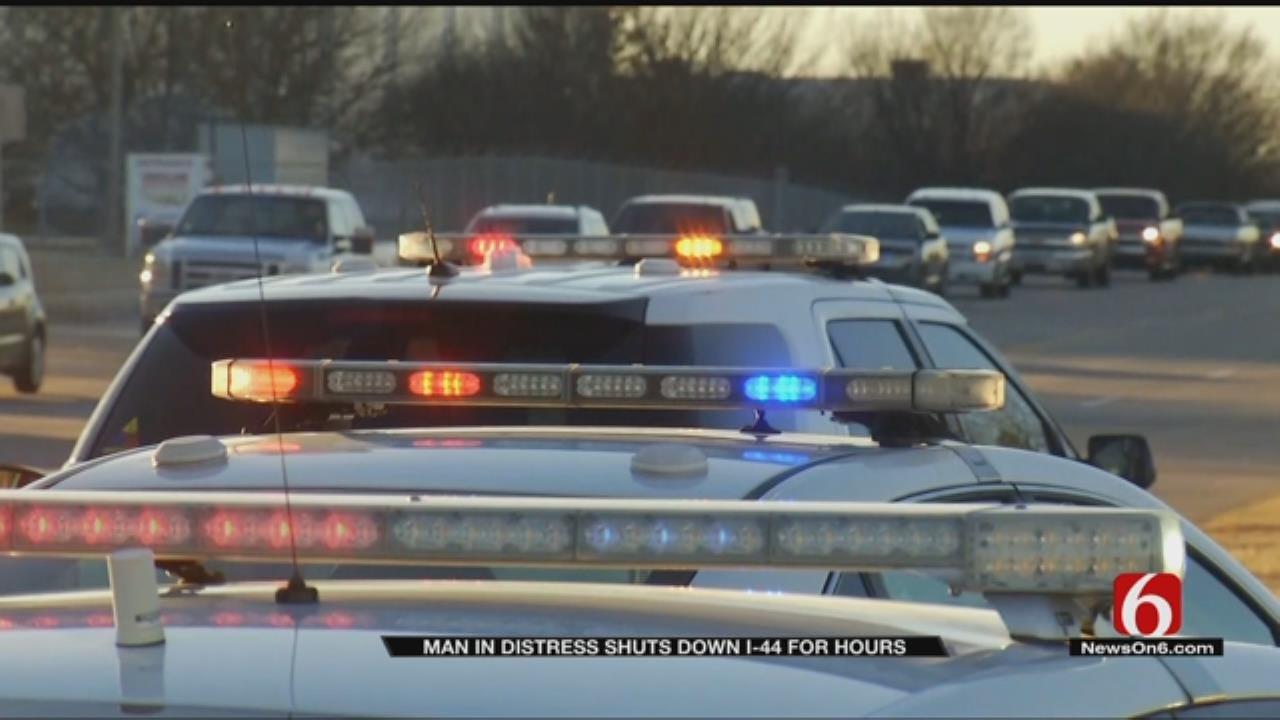 Traffic Shutdown As Police Handle Dangerous Situation