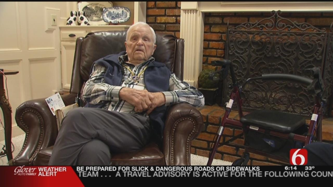 Oklahoma Veteran Turns 100, Shares Recipe For Long Life