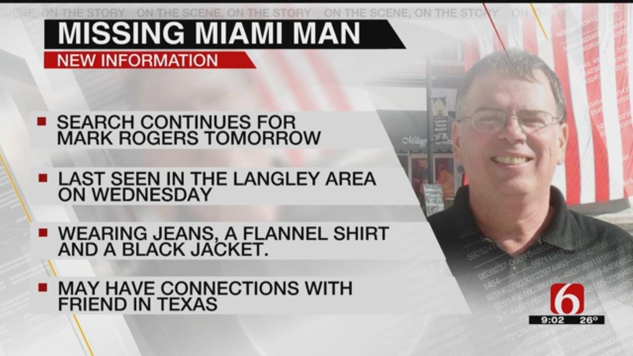 Officials Prepare Search Party For Missing Oklahoma Man