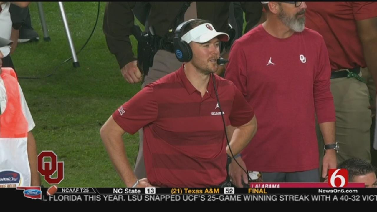 OU Announces Contract Extension For Lincoln Riley
