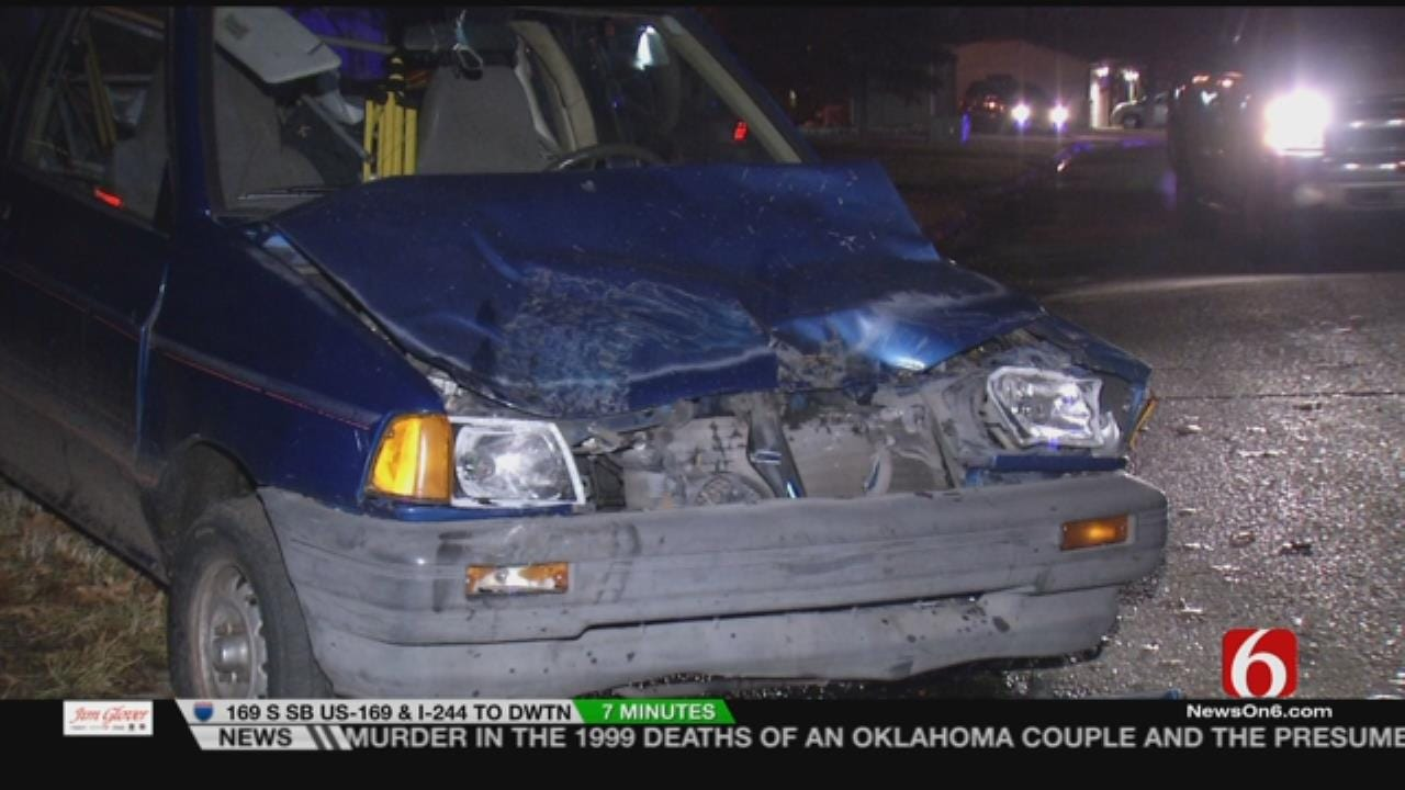 Suspect Leads Troopers, Tulsa Police On Destructive Chase