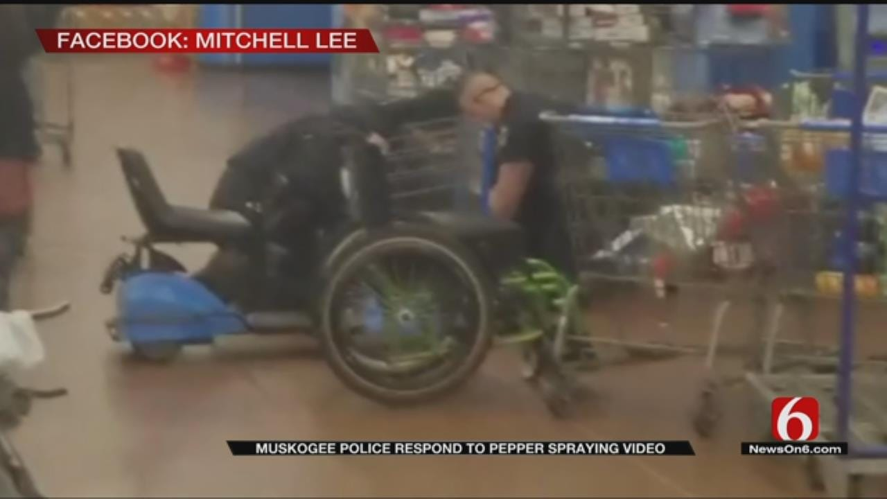 Muskogee Police Respond After Video Shows Officers Pepper Spraying Army Veteran
