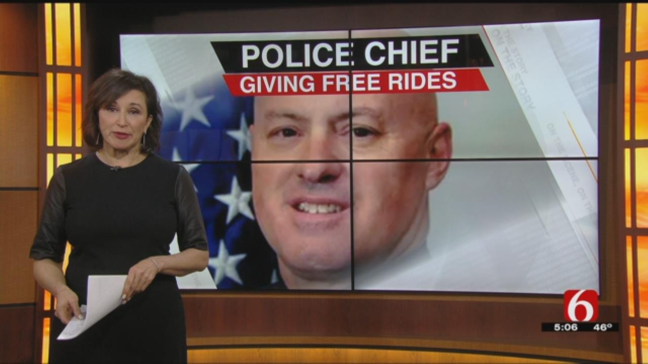 Police Chief Offers Free Rides Home To New Year's Eve Partiers In Bartlesville