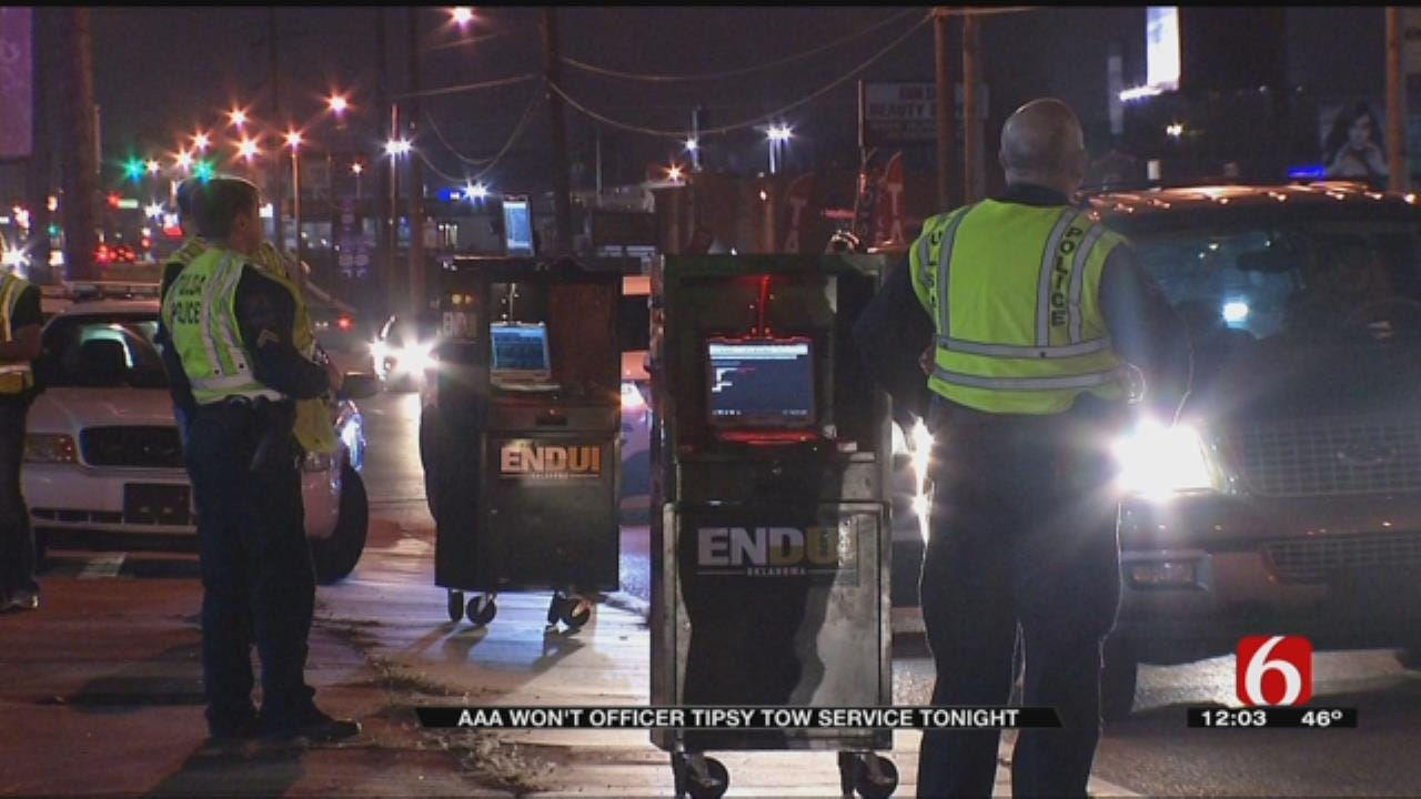 AAA Not Offering Tipsy Tow This NYE