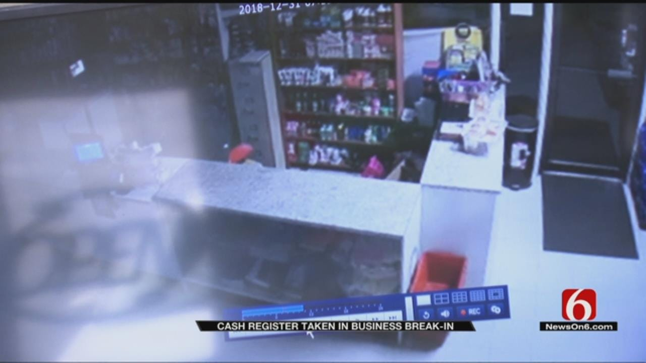 Thief Leaves Tulsa Business Owners With Thousands Of Dollars In Damages