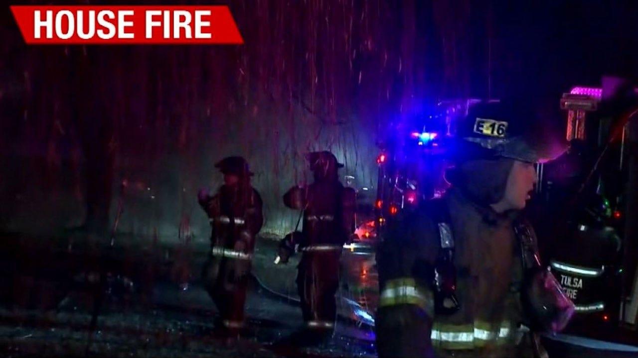 Dog Dies In Tulsa House Fire