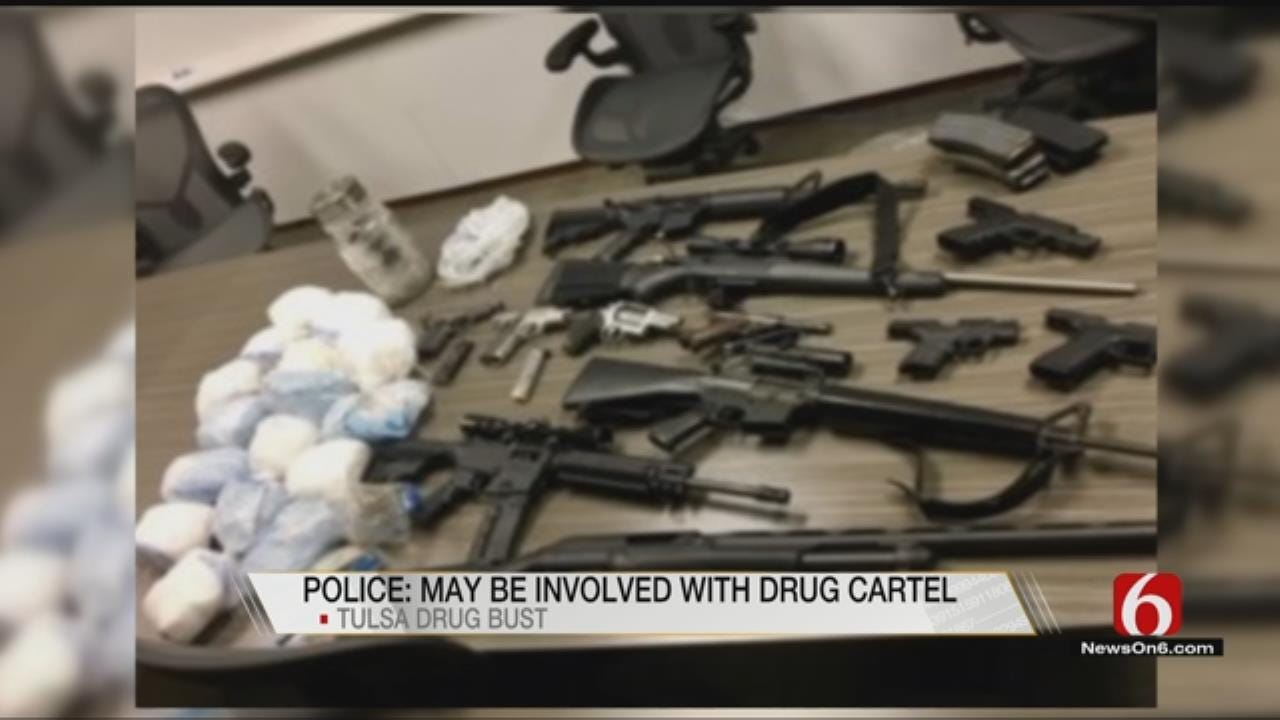 TPD And DEA Seize Guns And Drugs Possibly Connected To Mexican Cartel