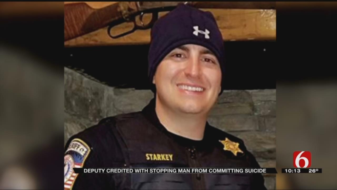 Rogers County Deputy Credited With Helping Suicidal Man