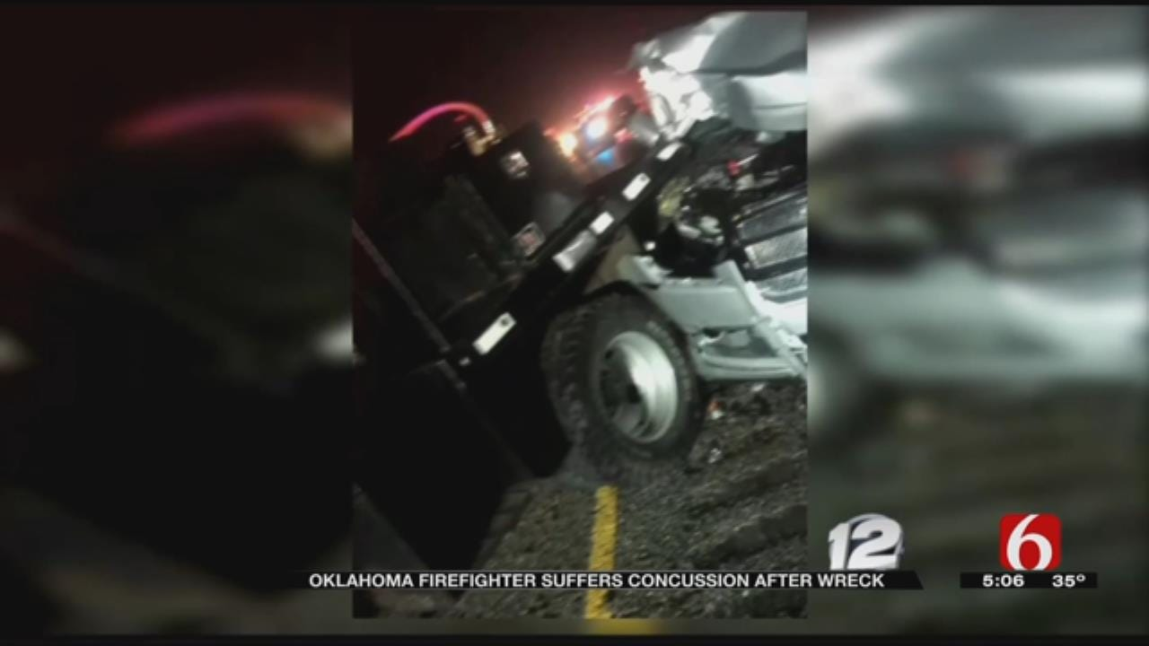 Colbert Firefighter Injured By Inattentive Driver