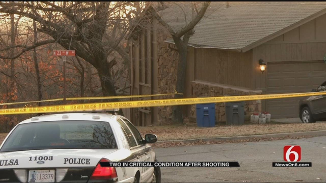 Man & Woman Critical Following Tulsa Shooting