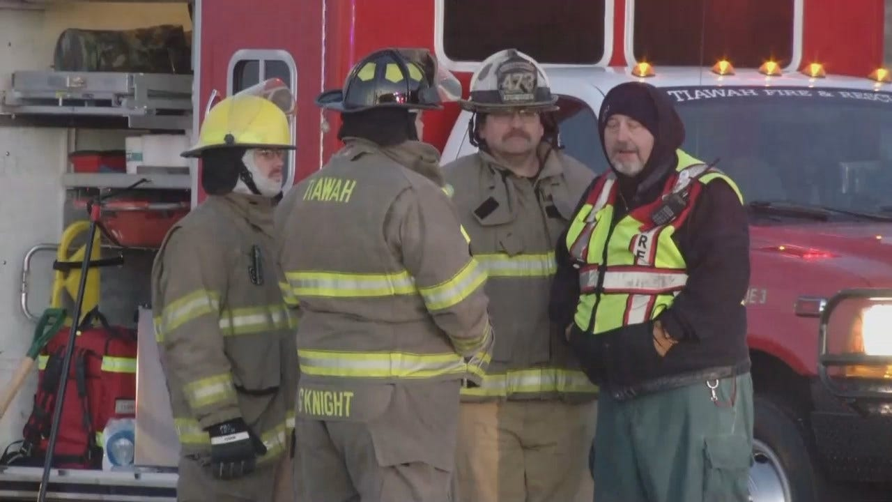 Video From Scene Of Head-On Rogers County Crash
