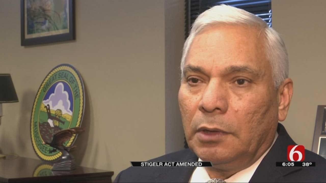 Stigler Act Amendment Huge For Oklahoma Tribal Families, Chief Says