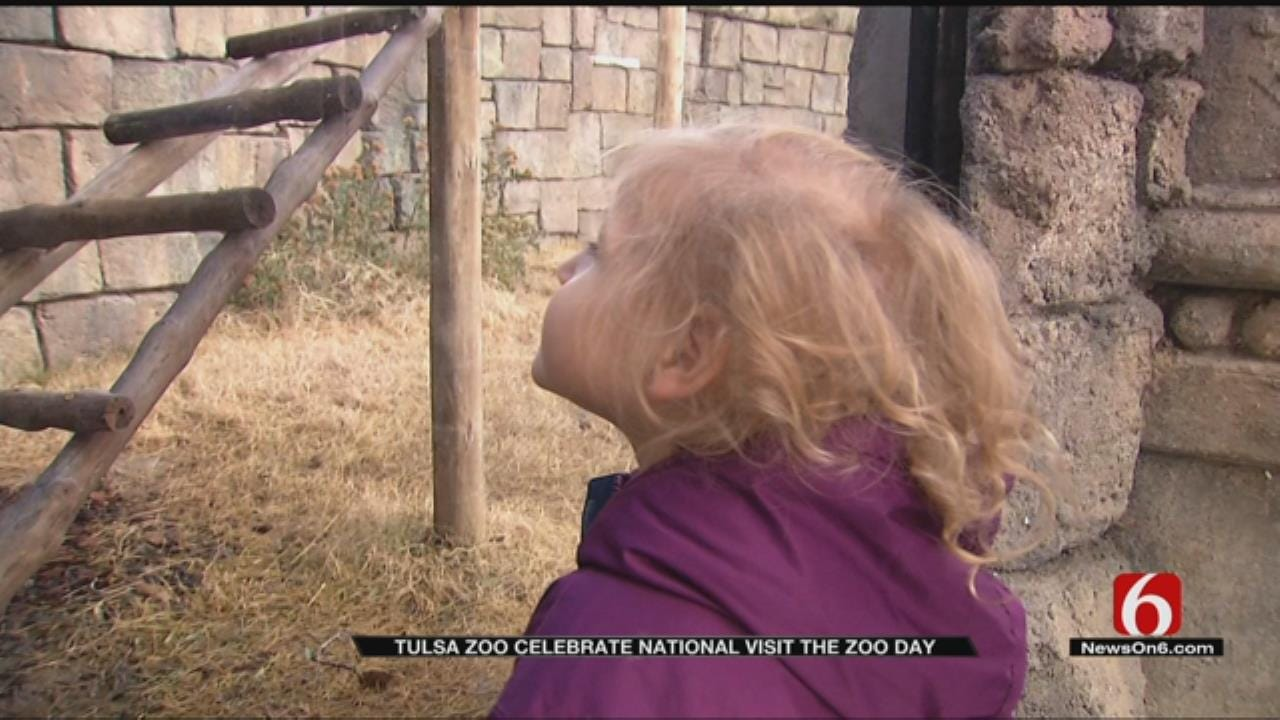 Guests Take Advantage Of National Visit The Zoo Day