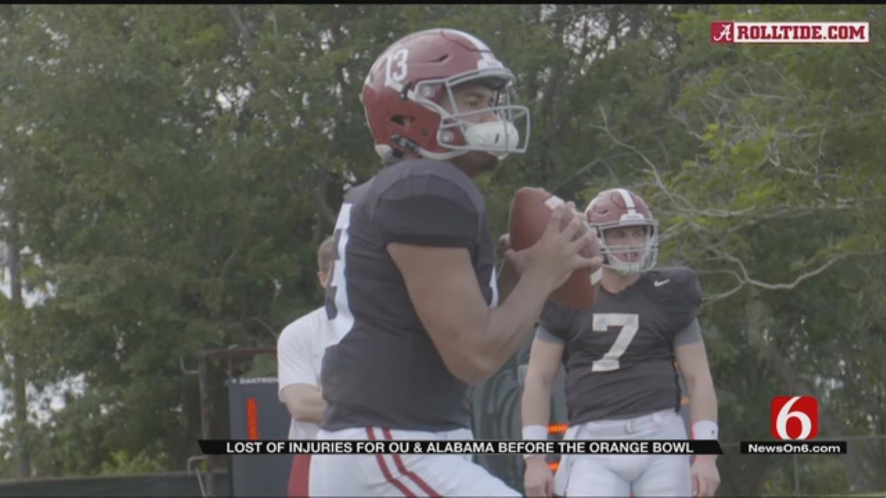 Orange Bowl Injury List Causing Uncertainty