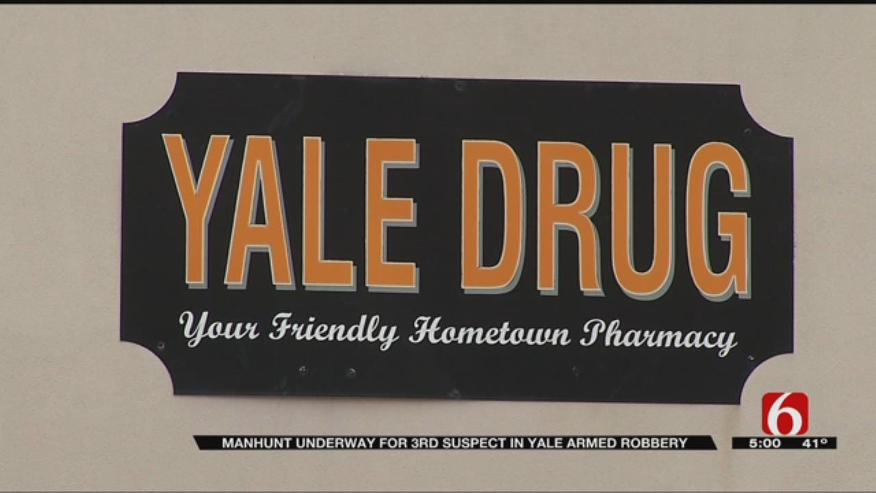Search Continues For Yale Drug Store Robbery Suspect
