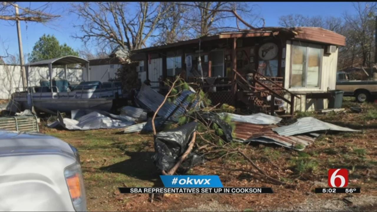 Cookson Area Tornado Victims Getting Financial Help From SBA