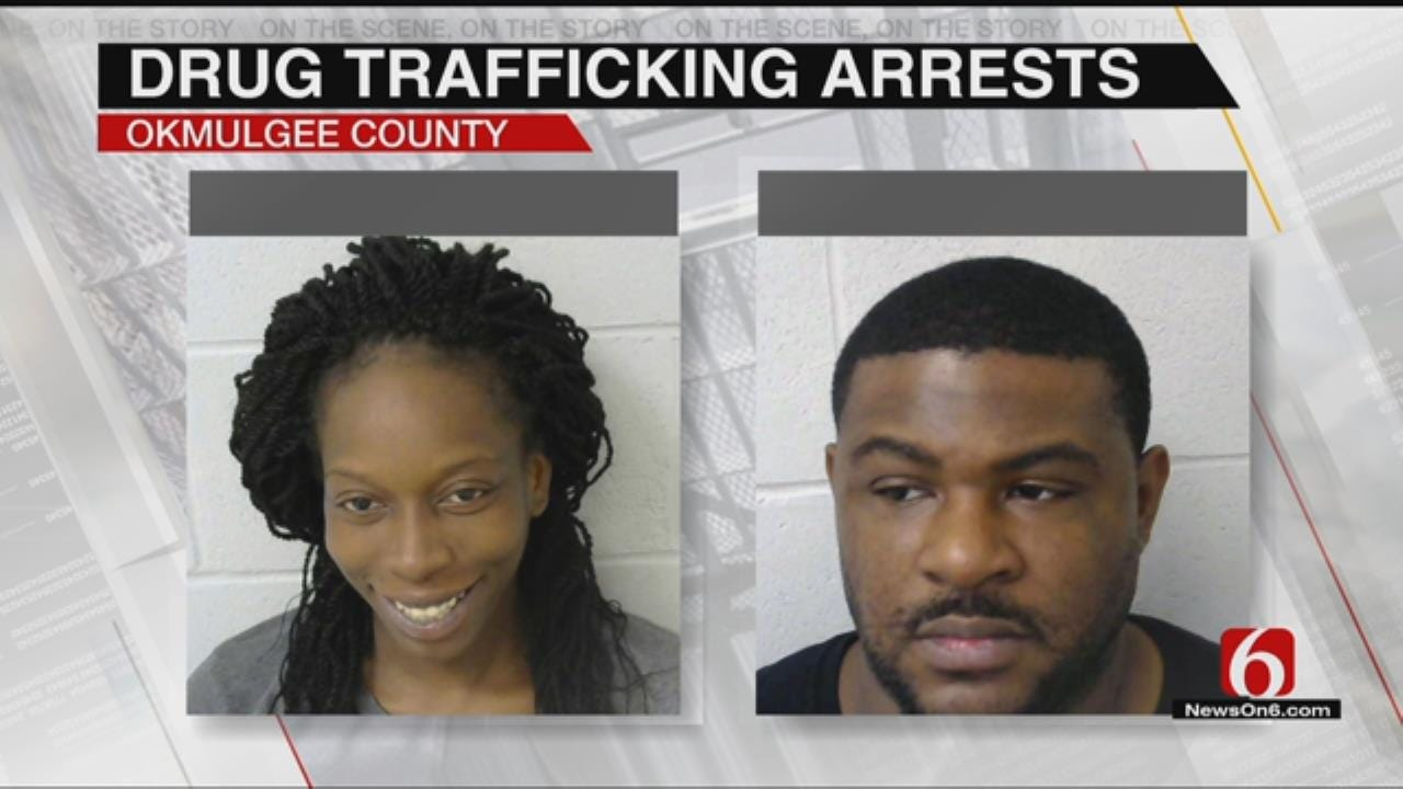 2 Arrested After Okmulgee Deputies Find 100 Pounds Of Marijuana In Their Car