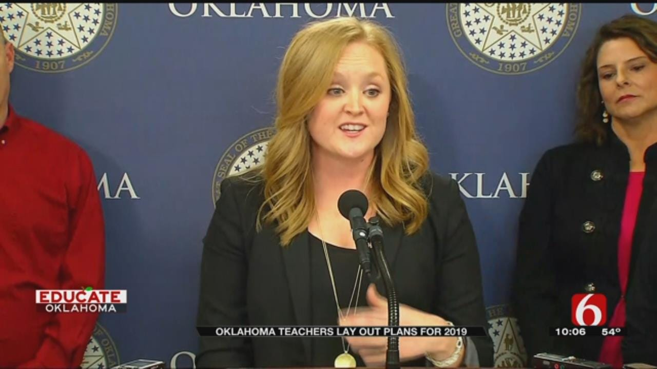 Oklahoma Teachers Will Continue To Fight For Change In 2019