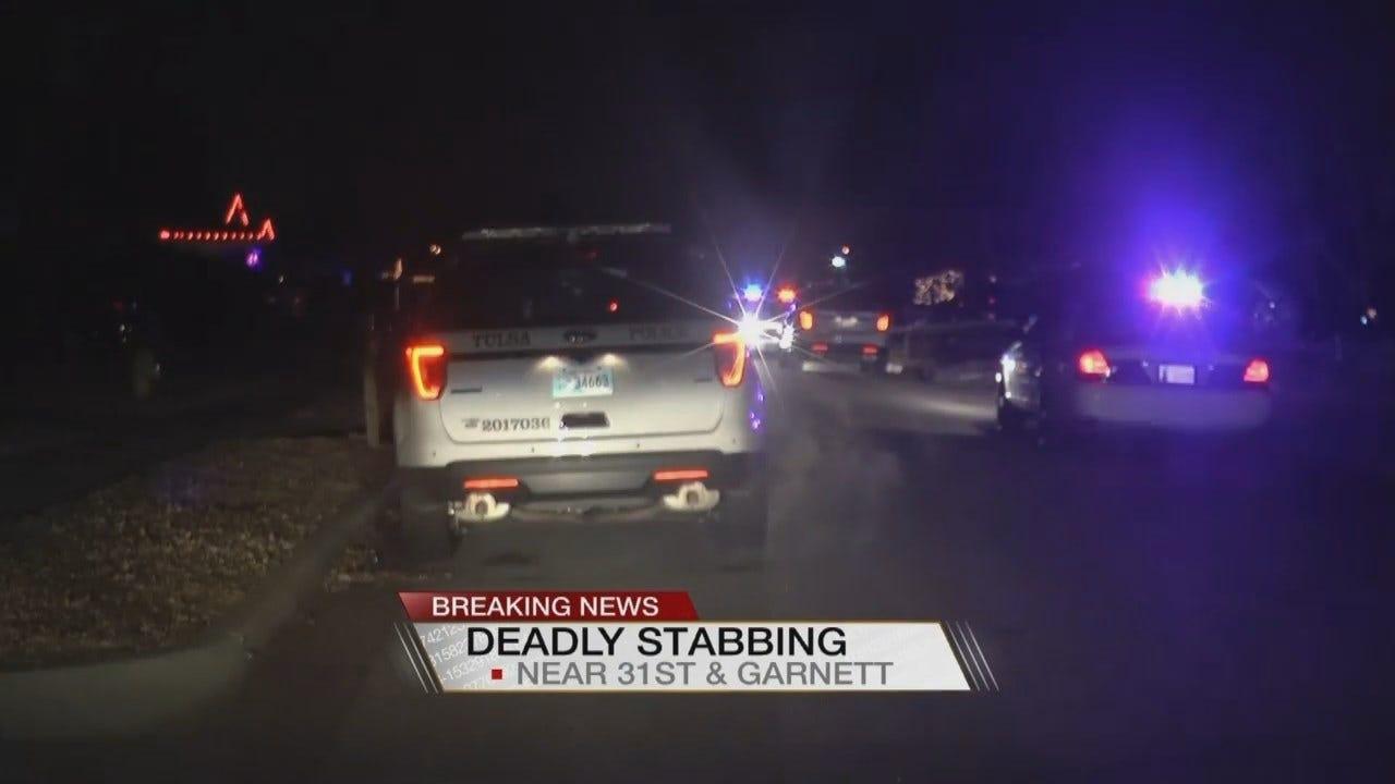 Tulsa Police Investigating Deadly Stabbing Near 31st and Garnett