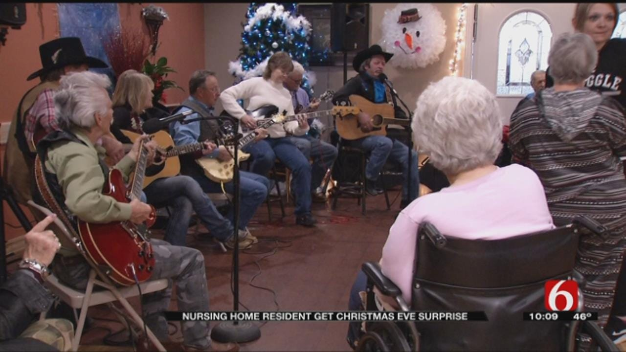 Group Brings Christmas Cheer To Collinsville Nursing Home