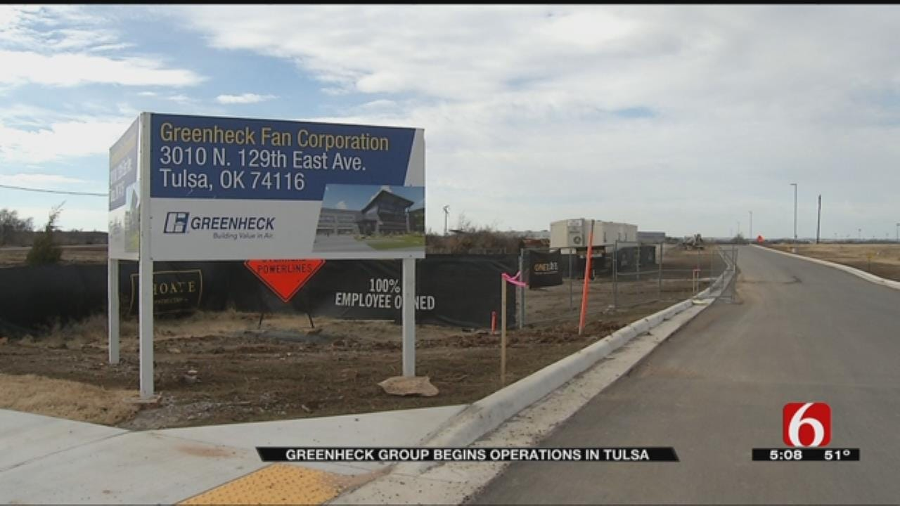 Greenheck Group Completes Tulsa Manufacturing Facility