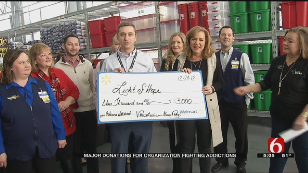 Rogers County Businesses Give Generous Donation To Light Of Hope Program