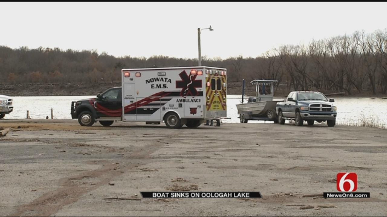 Family Rescued After Boat Overturns On Oologah Lake