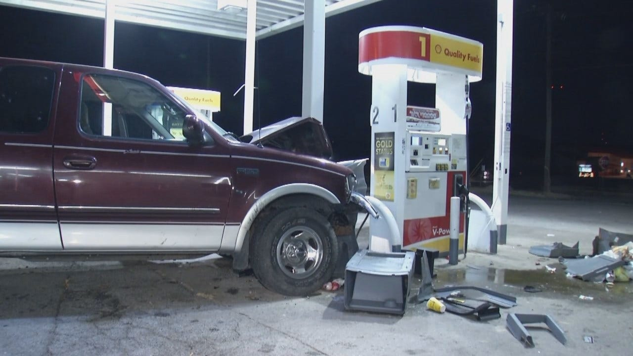 Video From Scene Of Berryhill EZ Mart Crash