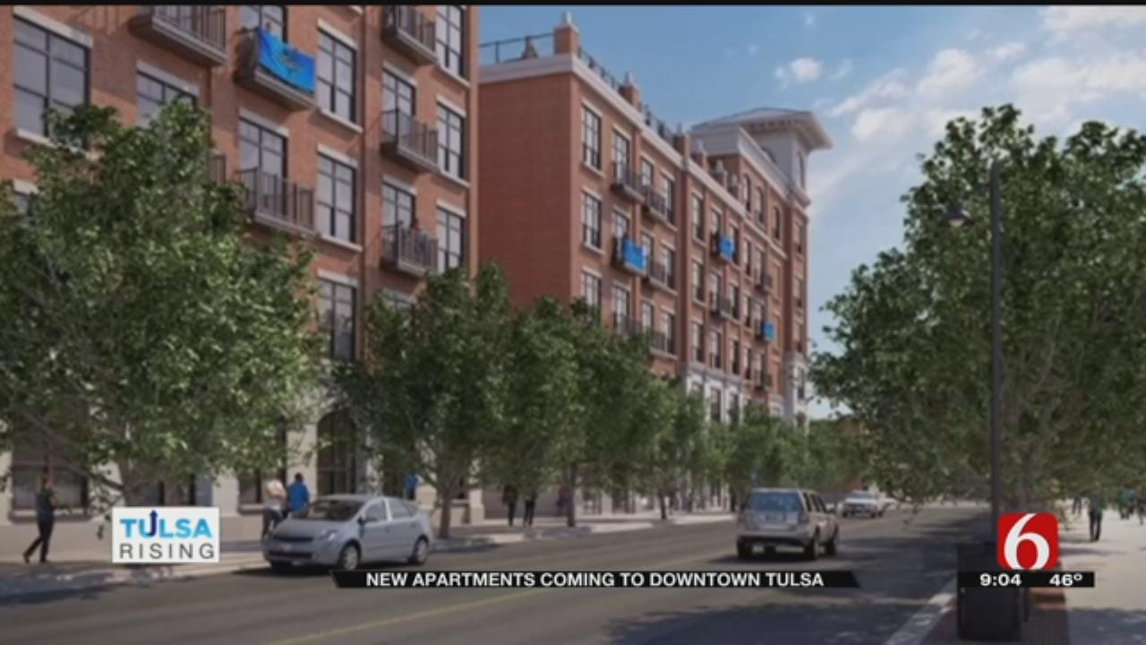 'The View' Apartment Building In Tulsa Ground Breaking Begins In January