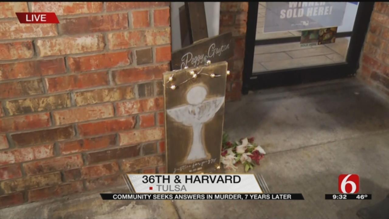 Neighbors Honor Tulsa Woman Murdered Seven years Ago