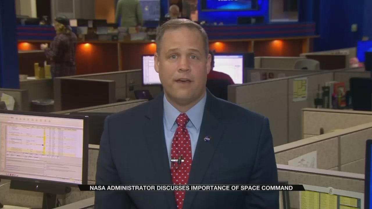 Jim Bridenstine Talks Space Defense On Apollo 8 Anniversary