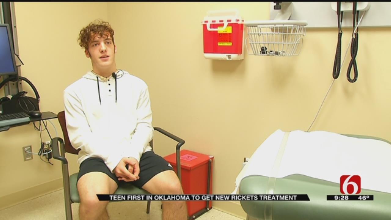 Tahlequah Teenager Receives New Life-Changing Drug
