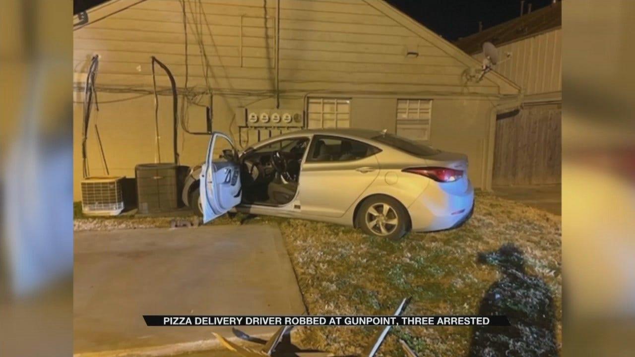 Gunmen Rob, Carjack Pizza Delivery Driver In Broken Arrow