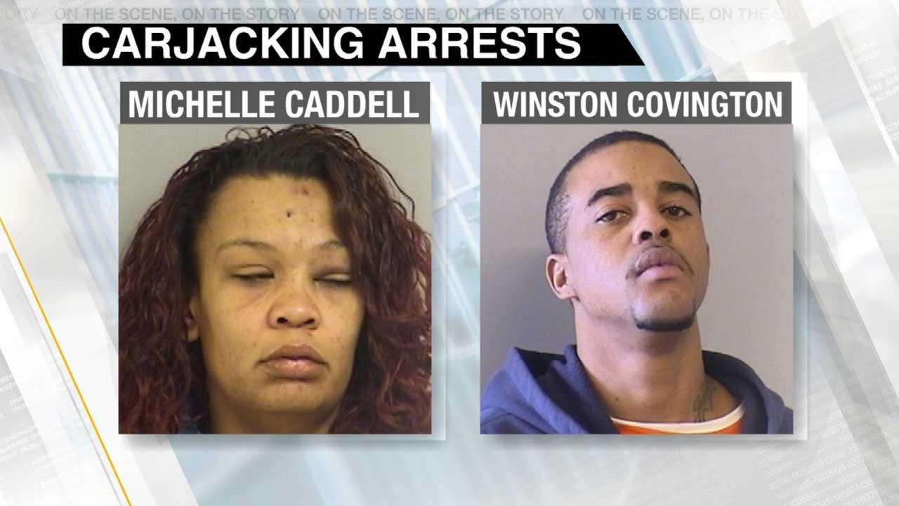 Tulsa Police Use OnStar To Track Carjacking Suspects