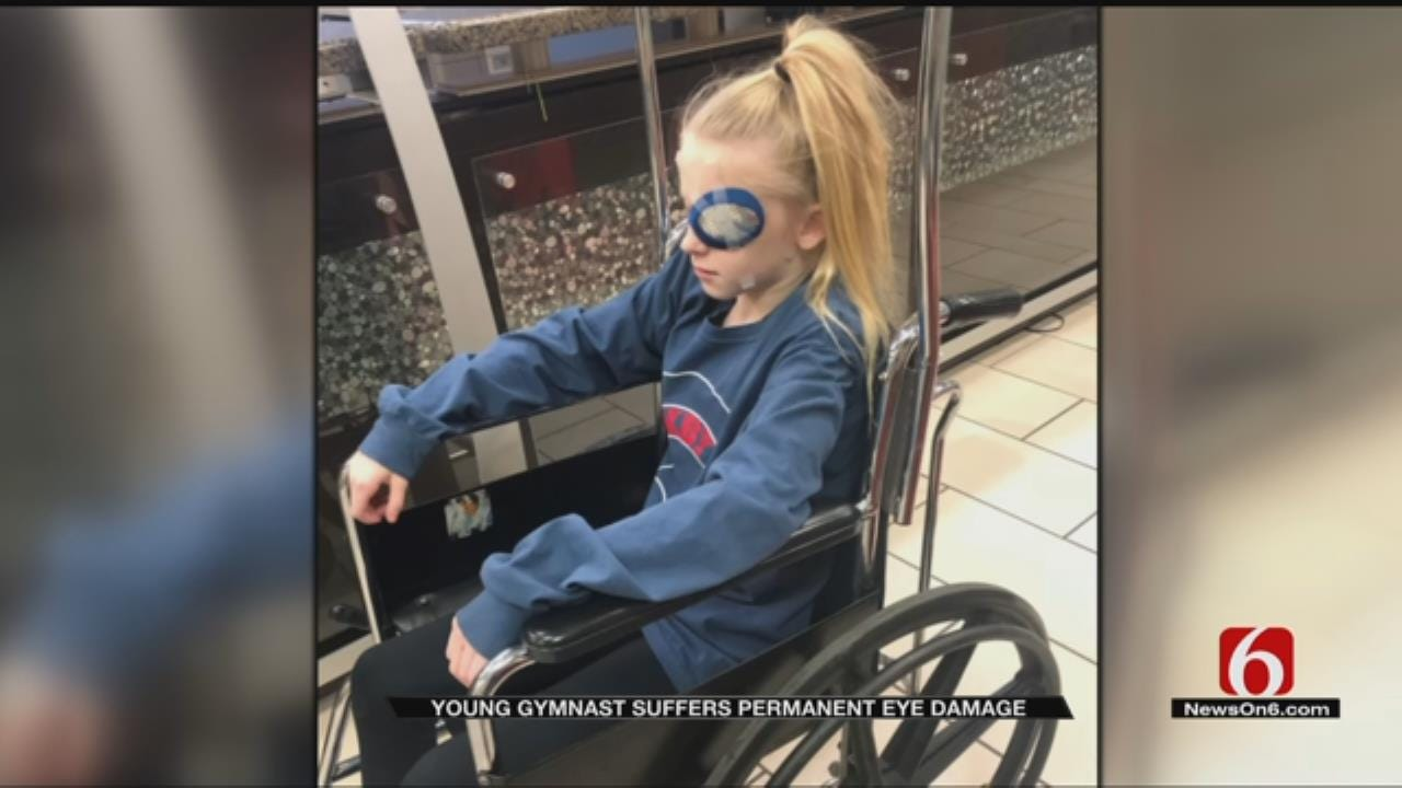 Bixby Girl Suffers Permanent Eye Damage After Accident