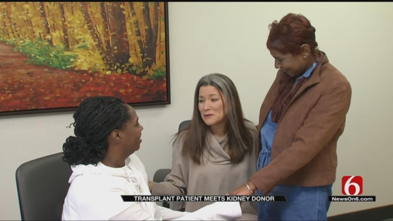 Tulsa Coworker's Need Becomes Life-Saving Gift For Another