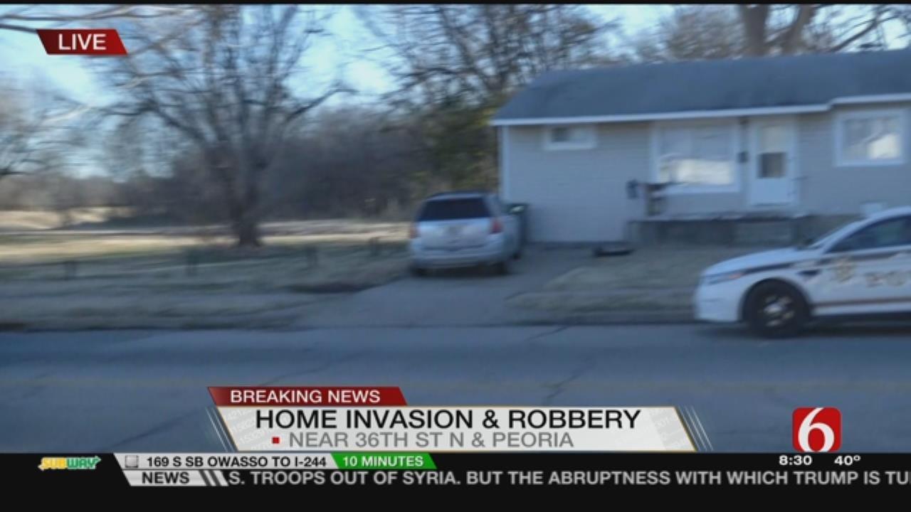 Joseph Holloway Reports On Tulsa Home Invasion Robbery