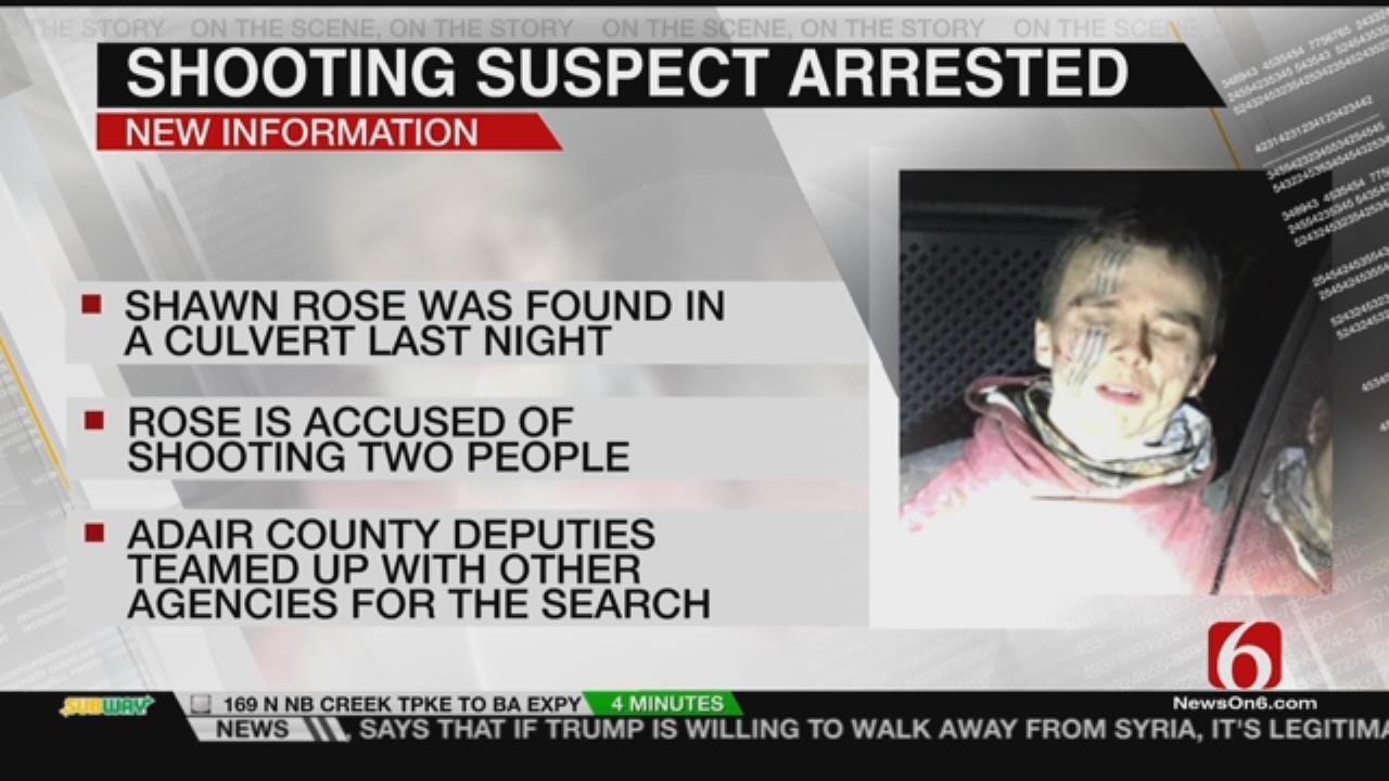 Deputies Arrest Adair County Double Shooting Suspect