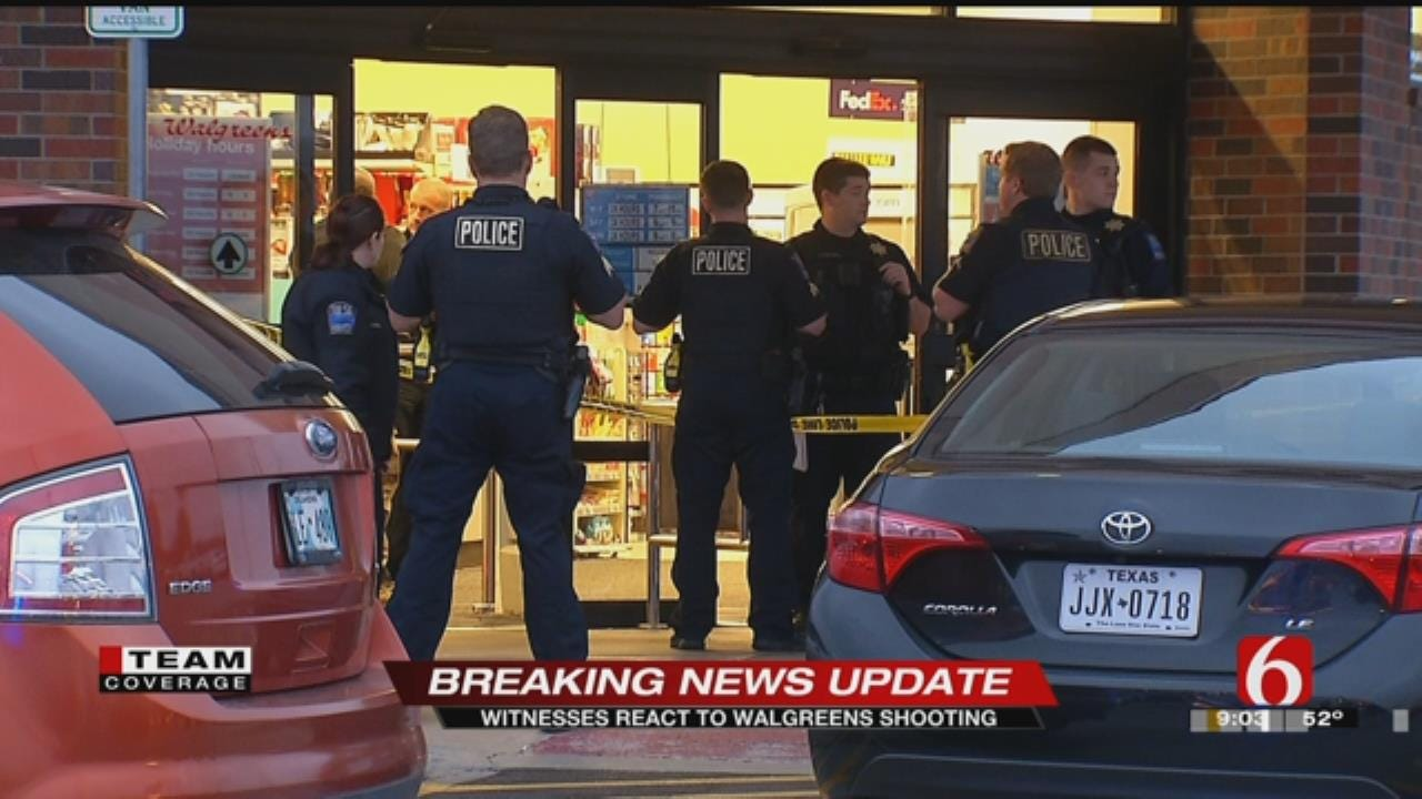 Witnesses Describe Chaotic Walgreens Shooting In Tulsa