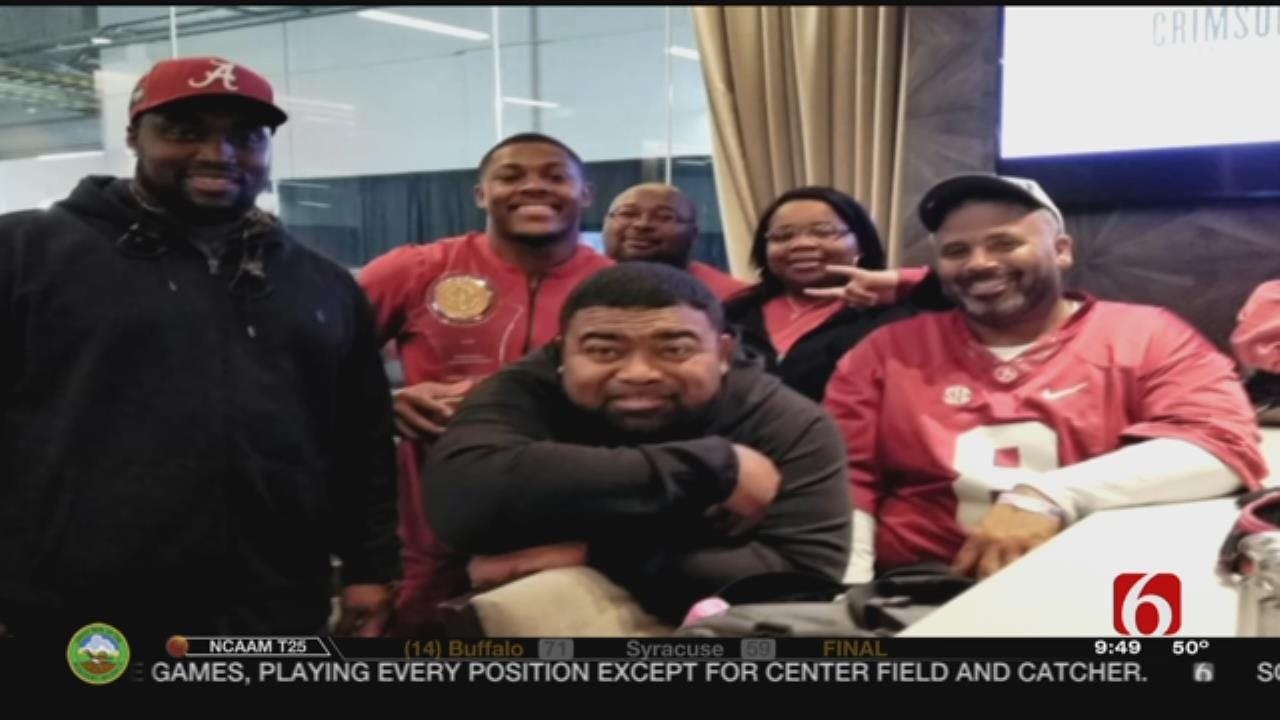 Father Of Alabama Star Running Back Describes Son's Drive