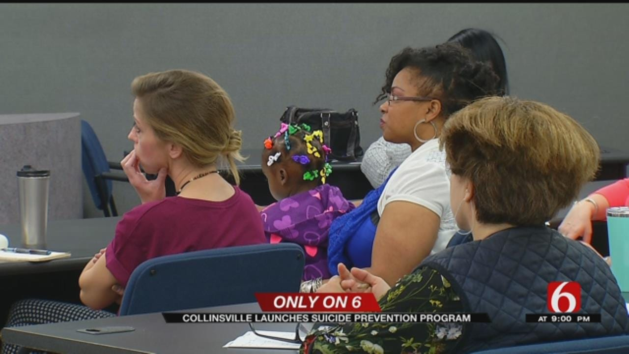 Suicide Prevention Program in Collinsville Helping Students