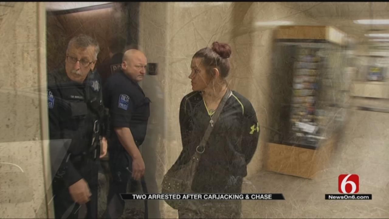 Couple Uses Shotgun To Carjack 2 Victims, Tulsa Police Say