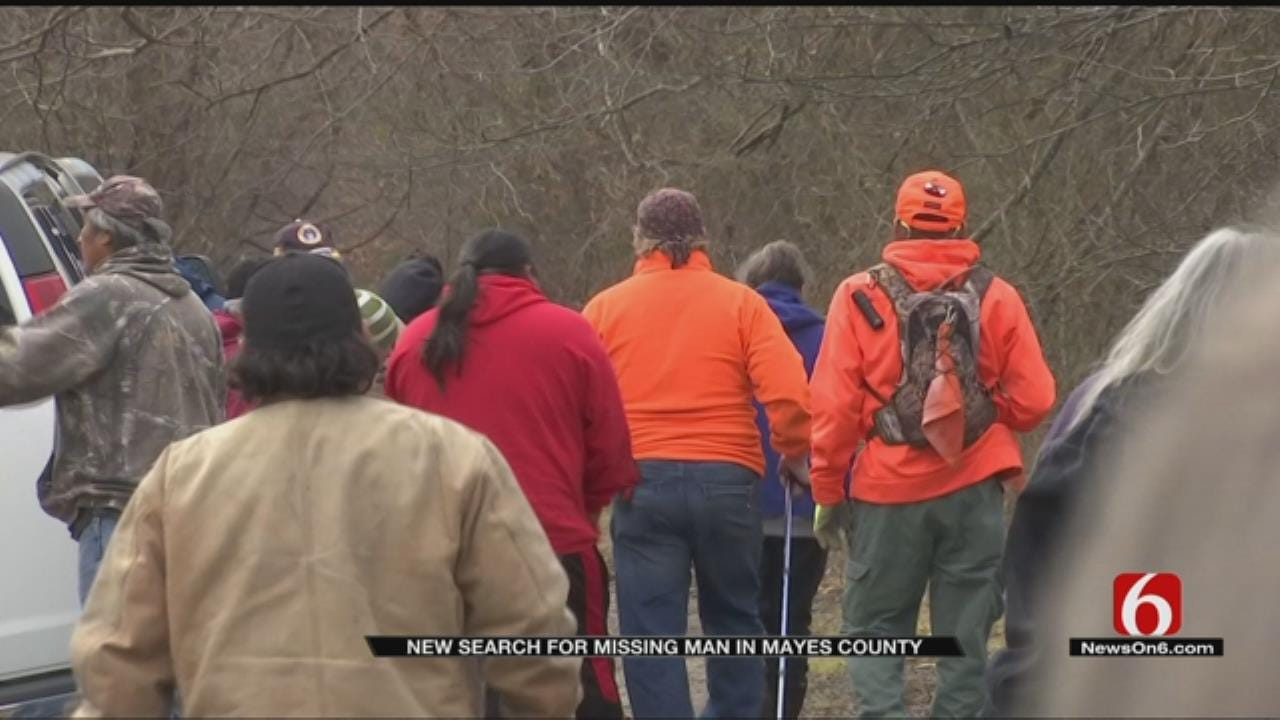 New Effort In Search For Missing Oklahoma Man