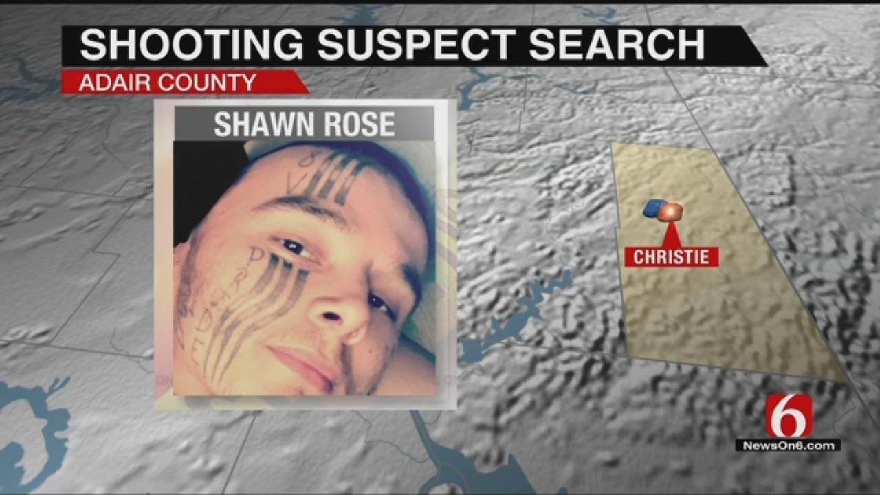 Adair County Deputies Search For Double Shooting Suspect