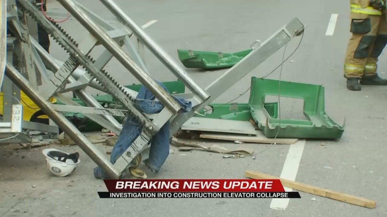 5 Hurt When Scaffolding Collapses In Downtown Tulsa