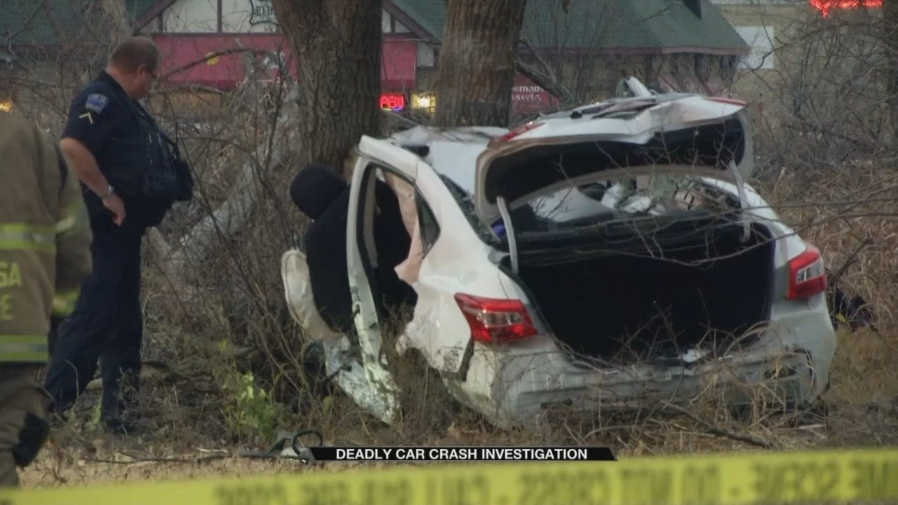 Man Killed In Tulsa Car Crash