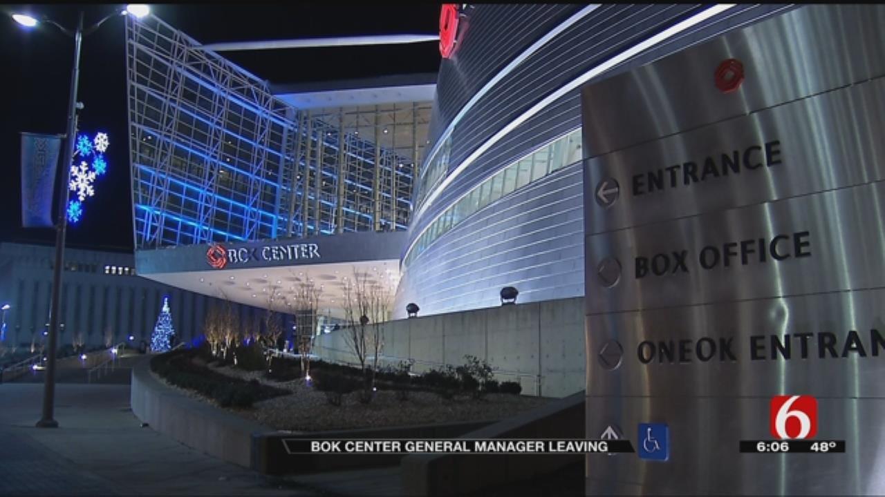 BOK Center General Manager Announces Departure