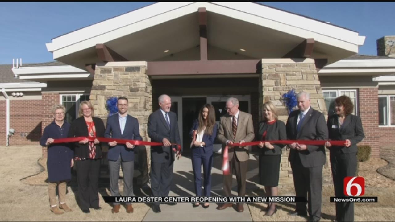Renovated Tulsa DHS Shelter Has New Mission