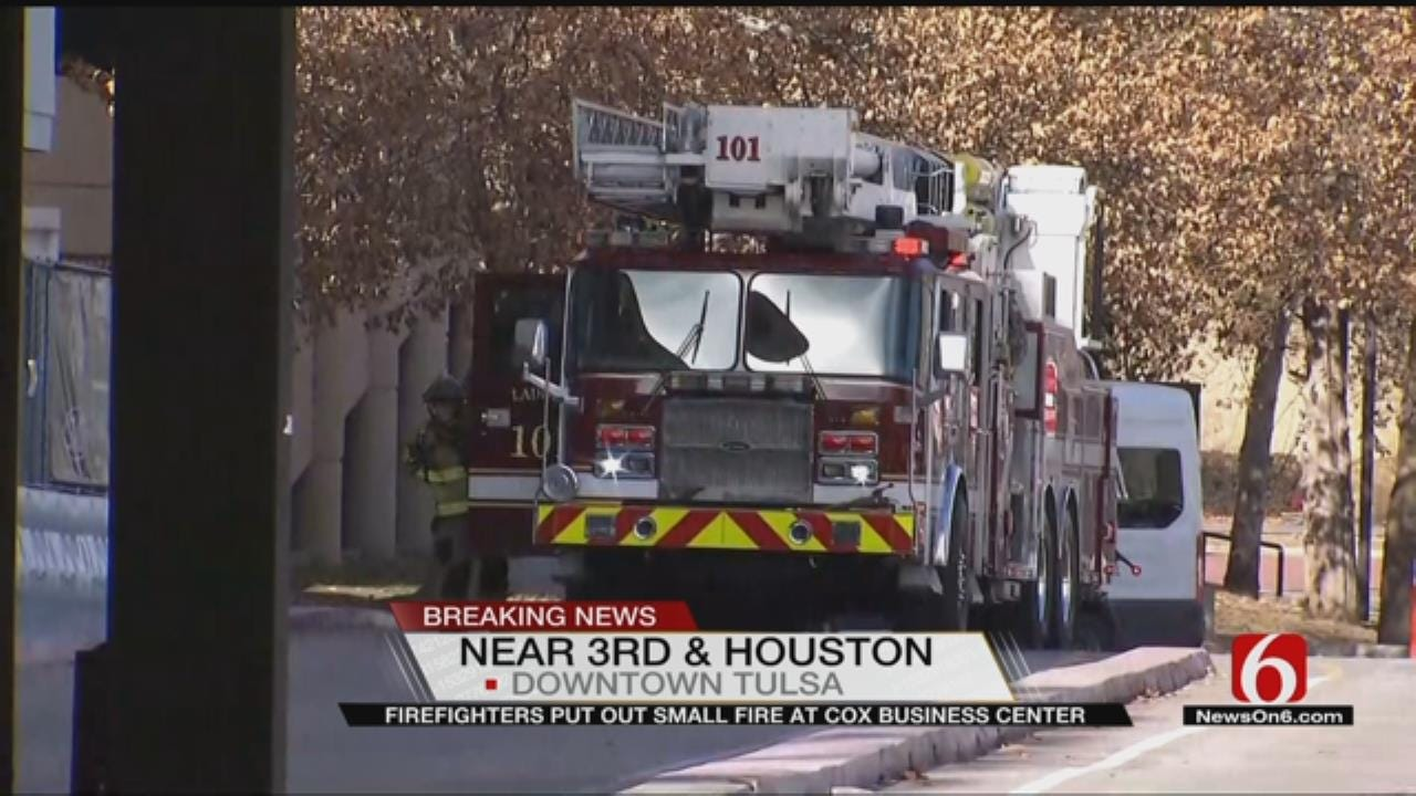 Tulsa's Cox Business Center Evacuated Due To Small Fire