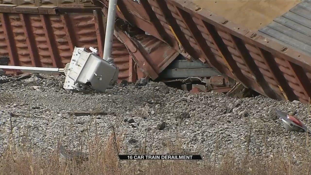 Pittsburg County Train Derailment